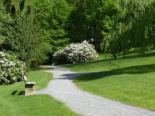 Der Weberpark in Oerlinghausen im Teutoburger Wald