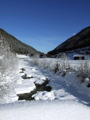 Winter im Stubaital