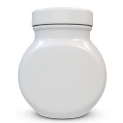 3d blank jar
