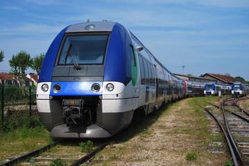 Train régional français