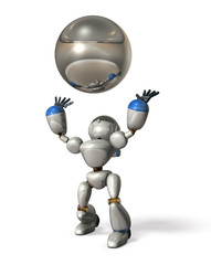 Robot to catch a ball