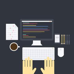 Flat programming pack