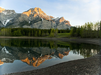 Sunrise at Wedge Pond