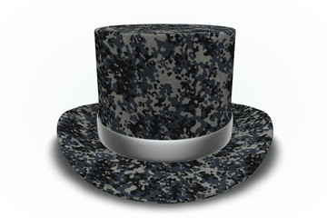 Air Force Camouflage Top Hat