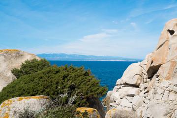 Corsica from Sardinia