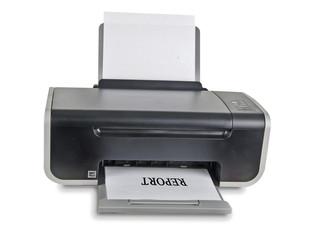 Printing of report