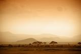 african savannah at sunrise © kubikactive