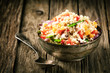 Healthy vegetarian quinoa recipe - 64893351