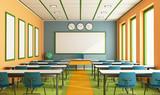 Contemporary classroom