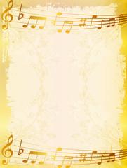 音符 楽譜 背景