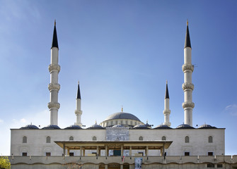 Kocatepe Mosque in Ankara. Turkey