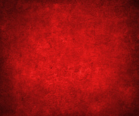 abstract red background or Christmas background with bright cent