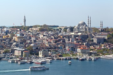 Istanbul on the waterfront