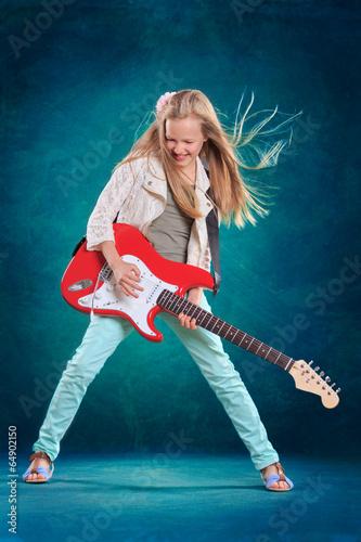 Rock girl