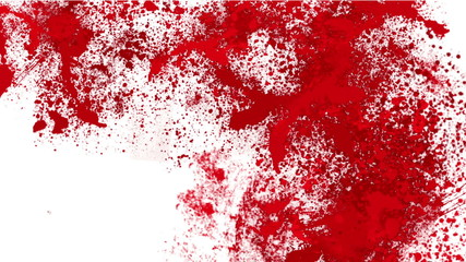 Blood splatter