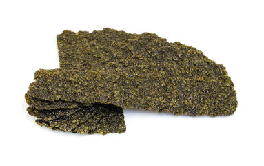 Roasted seaweed snack.