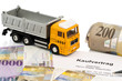 Kaufvertrag für neuen Lastwagen