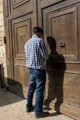 fermer la porte