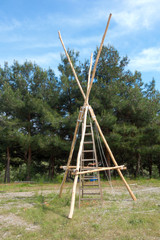 Scout wooden construction