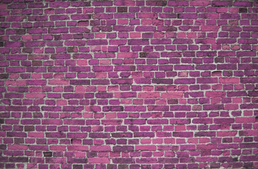 Purple / Lilac brick wall (background, wallpaper, bricks)