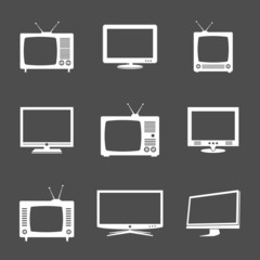 Various TV icons