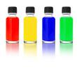 canvas print picture - Druckfarben