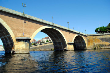 Bergerac old bridge