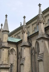 Exterior of St. James Cathedral, Toronto