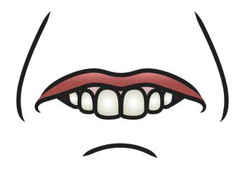Silly Lip Bite