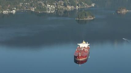 Burrard Inlet Oil Tanker