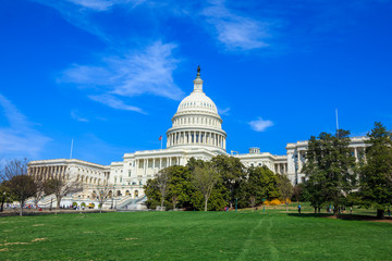 US Capitol Building - Washington DC United States