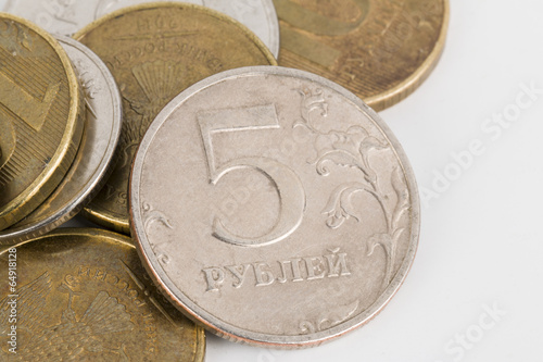 Russian money.