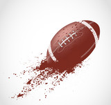 Fototapety American football design