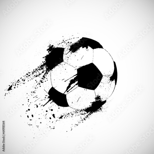 Grunge soccer ball - 64918564