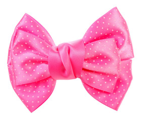 Lovely pink bow tie