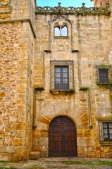 Cáceres, España, Palacio de los Golfines, casa señorial