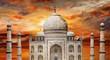 incredible India - Tadj Mahal