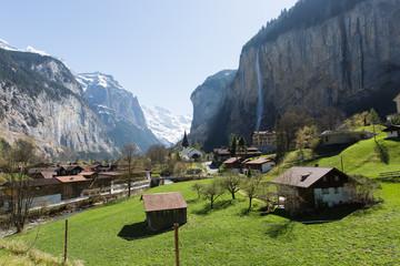 Way down from Jungfrau