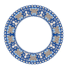 Pattern in antique byzantian style
