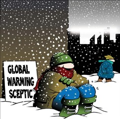 Global warming skeptic