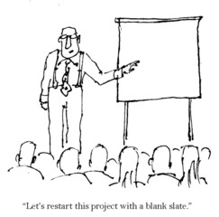 """Let's restart this project with a blank slate."""
