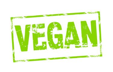 Stempel mit Vegan