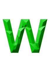 yeşil w tasarlama