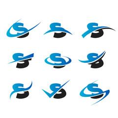 Alphabet S Icons