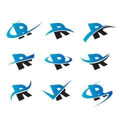 Alphabet R Icons