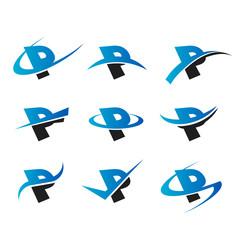 Alphabet P Icons