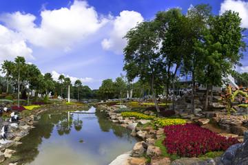 Flowers, Ponds, Gardens.