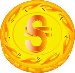 Hryvnia coin