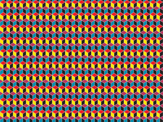 cubes color wallpaper