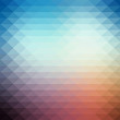 Abstract geometric style background design